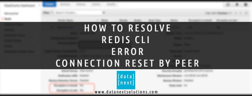 How to Fix Redis CLI Error Connection Reset by Peer